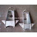electric line fitting hanger frame for transmission line tower accessories power high voltage steel structure hardware