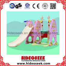 Supermarket Style Kinderrutsche Indoor Kunststoff zum Verkauf