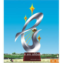 2016 New Metal Landscape Abstract Sculpture Of Modern Fashion Urban Statue