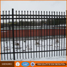 Cheap European Elegant Decorative Iron Fence House Fence