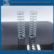 Chine Fabricant Personnalisé Haute Qualité Couleur Zinc Compression Printemps