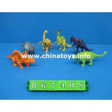 Nuevo articulo Set de juguetes de plástico para animales dinosaurios (867408)