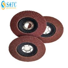 disco flap abrasivo para máquina de polimento de metal e madeira