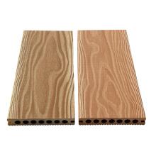 Piso de madera de imitación de wpc al aire libre 100% reciclado