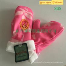 Haute qualité, joli, tricot, professionnel, gants, enfants, usine