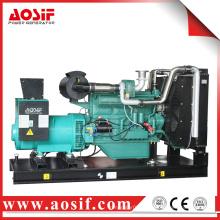 Китай Wuxi 160kw 200kva Работает от Wandi Engine Diesel Generator