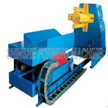 Automatic Uncoiler Machine with Car 10ton