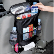 Backseat multifunction car cooler back seat organizer bag