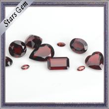 Garnet vermelho natural do vinho da forma Verious