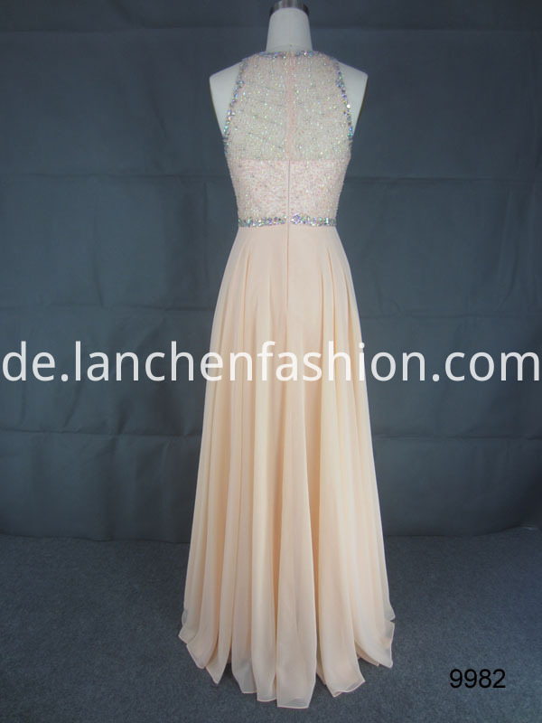 dress blush back