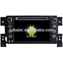 Glonass / GPS Android 4.4 Mirror-link TPMS DVR navegador de coche para Suzuki Grand Vitara con GPS / Bluetooth / TV / 3G