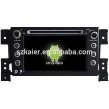 Glonass / GPS Android 4.4 Miroir-lien TPMS DVR voiture navigateur pour Suzuki Grand Vitara avec GPS / Bluetooth / TV / 3G