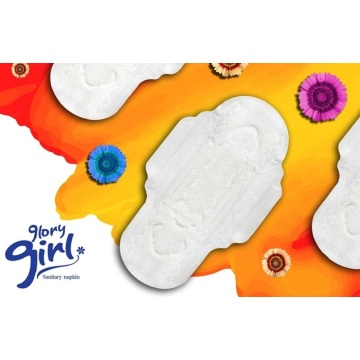 Super absorbent sanitary towel with flavor
