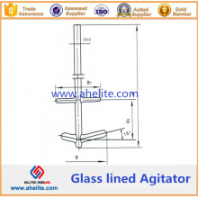 Combination Type Glass Lined Agitator