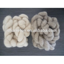 Mongolian 100% combed cashmere tops 16.5mic/44mm