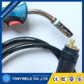 Binzel 24KD CO2 mig welding torch 250A 3M/4M/5M