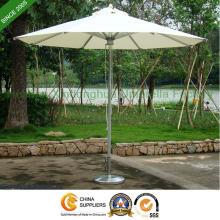 9 Fuß Markt Aluminium Sonnenschirm für Garten-Outdoor-Möbel (PU-0027A)