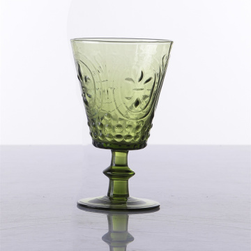 Handgeblazen Solid Glass Water Goblets