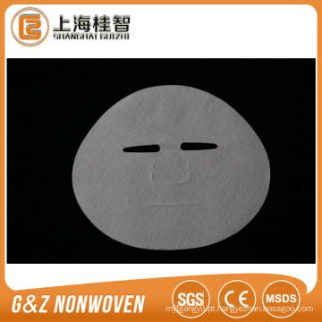 Máscara facial de máscara facial de seda pura japonesa