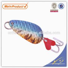 SNL004 8-20g, iscas de colher de pesca de cobre personalizado de peixe de equipamento de pesca