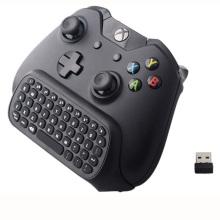 Novo teclado sem fio sem fio de mensagem de chatpad sem fio de 2,4 polegadas para o Microsoft Xbox One Controller com 3.5 Audio Jack