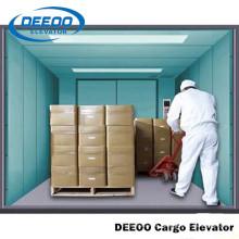 Elevador de carga pequeno do armazém de Deeoo com melhor preço