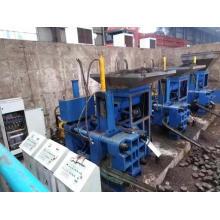 Horizontale Maschine zur Herstellung von Briketts aus rostfreiem Stahl