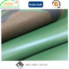 PVC Coated 100% Nylon 1000d Cordura Fabric with Military Printed