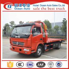 Proveedor de China 4000 kgs Un remolque de dos camiones de remolque de plataforma a la venta