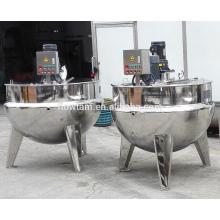 Cuisinière à vapeur en acier inoxydable 800l
