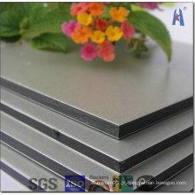 Kingaluco Painel composto de alumínio Silver Mirror Surface