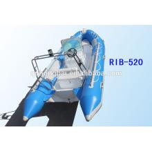 RIB520 Boot Rubber Boot Schlauchboot Festrumpf mit CE
