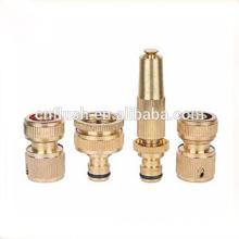 4pcs brass basic brass hose fitting set gardening watering