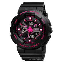 Skmei 1689 Man Girl Relojes Hombre Japan Movement 5atm Waterproof Round Plastic Fashion Wholesale Digital Sport Watch