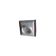 Leatherette blanco PU pantalla de visualización de visualización de pie (WS-WLB-W1)