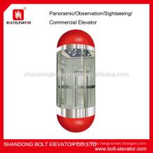 Ascensores de cápsula Ascensor panorámico Ascensor pequeño ascensor ascensor