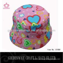Sombreros plegables del sol de las niñas para el verano