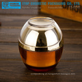 Diferente do estilo 30 g e 50g devenda boa qualidade agradável e projeto especial high-end cosméticos creme plástico acrílico jar