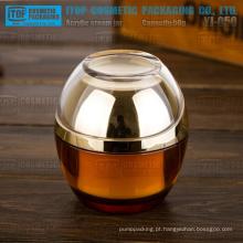 YJ-OH50 50g inovador nova chegada luxo camadas dobro novo cosméticos acrílico jar