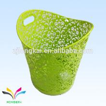 Eco-содружественная зеленая медицинского 240 л из нержавеющей стали декоративные мусорные баки