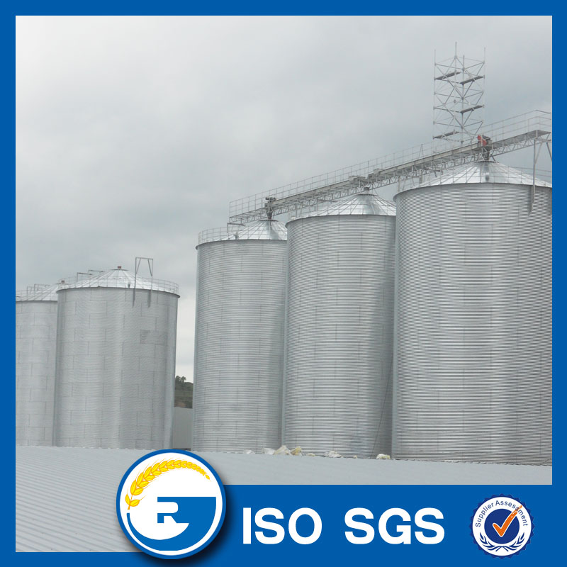 steel storage grain bins