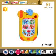 Nuevo juguete de teléfono inteligente bebé con música y luz