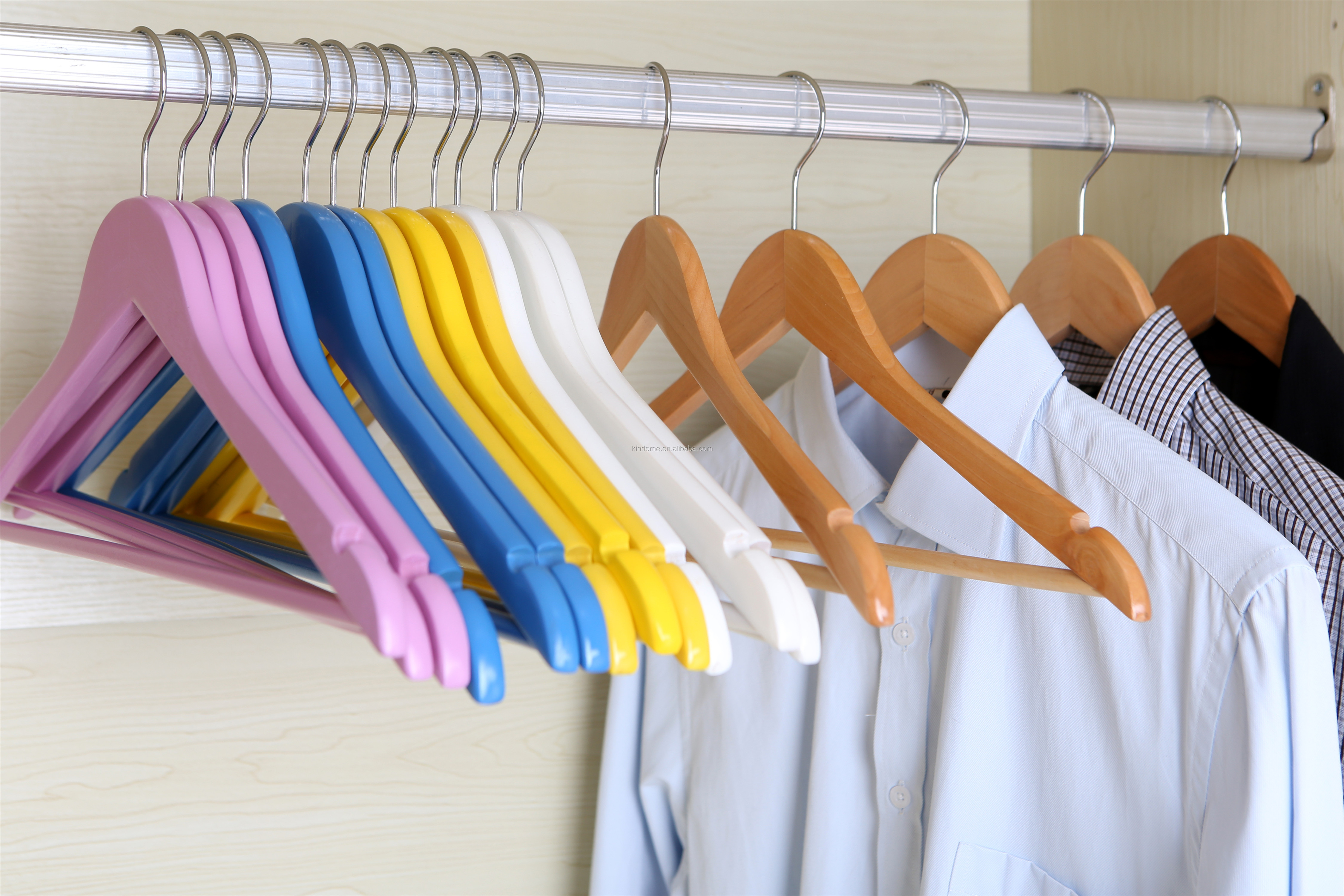 wooden antique hangers for clothes