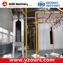 Máquina de revestimento de alumínio do pó, máquina de revestimento de madeira do pó do revestimento