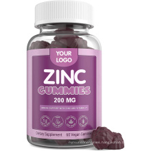 Zinc Gummies Immunity Support Blend Elderberry Extract Vitamine C with Zinc Citrate for Women