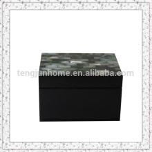 Black MOP Aufbewahrungsbox mit schwarzer Farbe kleinste Größe