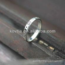 Vente en gros de bijoux en argent sterling avec 925 anneaux