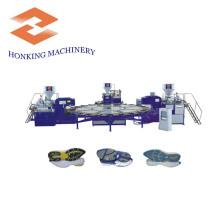 Machine pour la fabrication de semelle en PVC