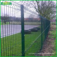 Fabrication de clôtures soudées en fil métallique de Anping en Chine