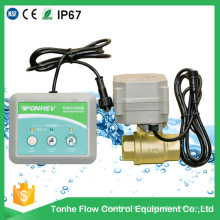 Drahtlose Wasser-Lecksuch-Detektor-Steuerungs-Lösung mit motorisiertem Ventil